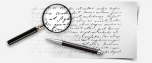 Независимая экспертиза почерка