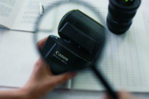 Грамотно проводим независимую экспертизу фотоаппарата
