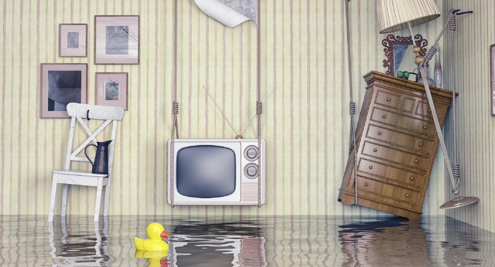 затопили соседей квартира съемная