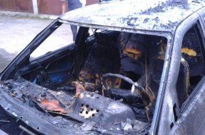 Экспертиза причина возгорания автомашин