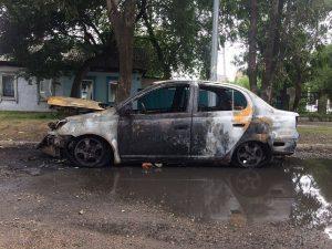 Экспертиза при возгорании автомобиля