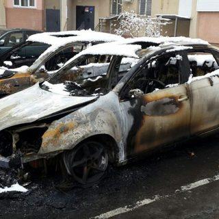 Экспертиза сгоревшей автомашины