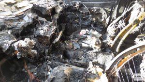 Экспертиза после пожара в авто
