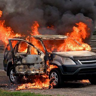 Экспертиза авто после пожара