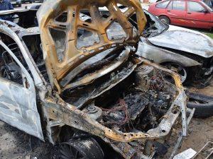 Экспертиза автомобиля после пожара