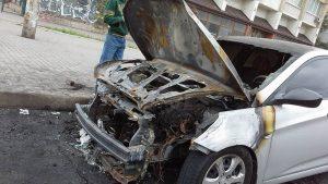 Экспертиза причин возгорания двигателя автомашины