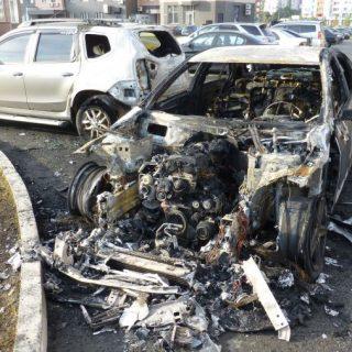 Что делать если сгорел автомобиль?