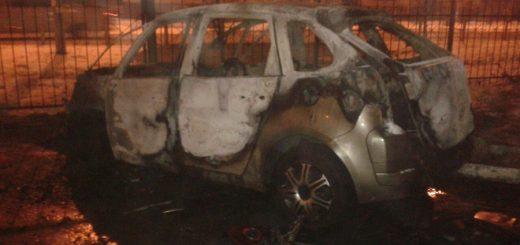 Экспертиза автомашины после возгорания