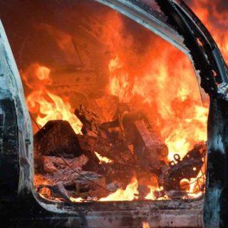 Экспертиза причин возгорания электропроводки в автомашине