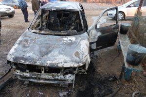 Экспертиза возгорания автомашины