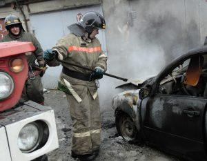 Экспертиза причин возгорание автомашины