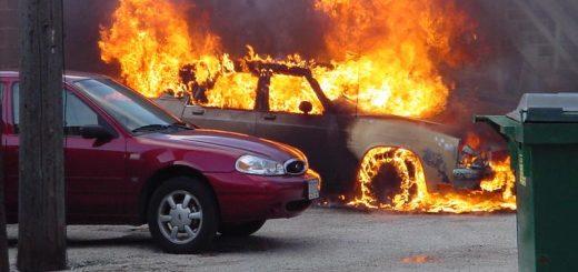 Экспертиза причины пожара в автомобиле