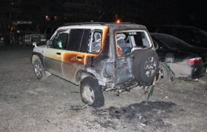 Экспертиза после пожара сгоревшего автомобиля
