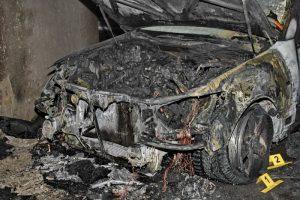 Экспертиза при возгорании автомашины