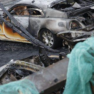 Экспертиза причин пожаров в авто