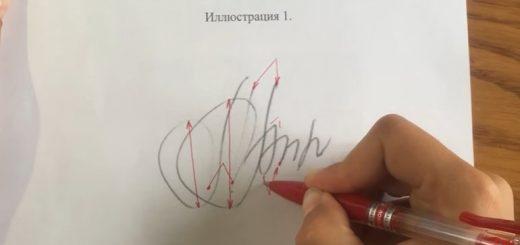 Порядок назначения экспертизы почерка