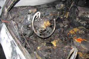 Что делать если сгорела автомашина?