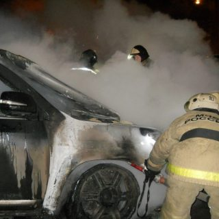 Экспертиза причин возгорание авто