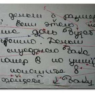 Графическая экспертиза почерка в Москве